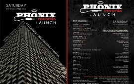 Phonix Records Launch Party 4th December 2010 UK